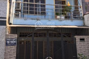 Nhà 1 lầu hẻm 6m đường Kênh Tân Hóa, P. Phú Trung, Q. Tân Phú. Giá 5,1 tỷ