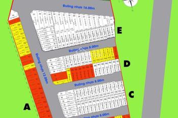 Hôm nay nhận giữ chỗ dự án đất nền thị trấn Nhà Bè, Nhà Bè, sát Q7, diện tích 60m2. 0915851125