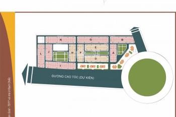 Bán đất góc 2 mặt tiền khu Sân Golf Nam Rạch Chiếc đường Đỗ Xuân Hợp P. An Phú Quận 2. DT: 128m2