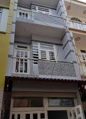 Nhà hẻm 628 Hậu Giang hẻm thông Nguyễn Văn Luông , DT 46.5 m2, giá 2.3 tỷ, sổ riêng