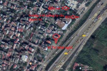 Nhà 6 tầng 65m2, có thang máy, ô tô đỗ cửa, mặt đường Vành Đai 3 cầu Thanh Trì. LH: 0814373189