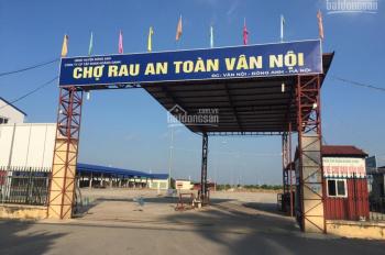 Bán đất Viên Nội, Vân Nội, DT 115m2, MT 8m. Giá: 3.7 tỷ
