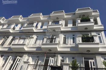 Nhà phố Thạnh Xuân, Q12, 1 trệt 1 lửng, 3 lầu, đường rộng 12m, SHR, gần chợ. LH: 0909020314 Vân