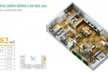 Chính chủ cần bán gấp căn hộ A10 dự án Anland Complex giá 2.53 tỷ. LH: 0911113655
