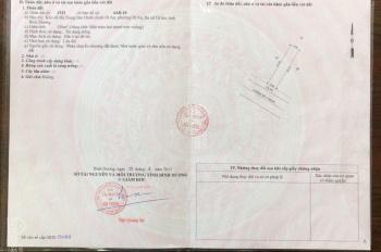 Bán đất TTHC Dĩ An, mặt tiền đường Số 3, đối diện trường mầm non Võ Thị Sáu, giá 42tr/1mét