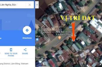 Cho thuê đất 5x21m hai mặt tiền QL20 thị xã Liên Nghĩa, Đức Trọng, Lâm Đồng