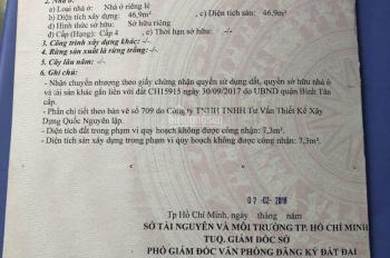 Bán nhanh 3 căn nhà cũ hẻm 606 Hồ Học Lãm, Bình Trị Đông B, Bình Tân - Hẻm Sinco
