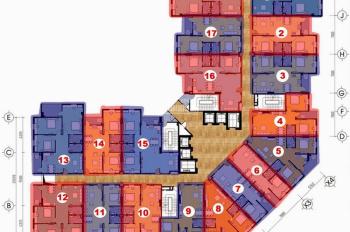 Bán căn hộ DT 107m2 tòa CT2B Thạch Bàn, giá 15.5 triệu/m2. Nhận nhà ở ngay