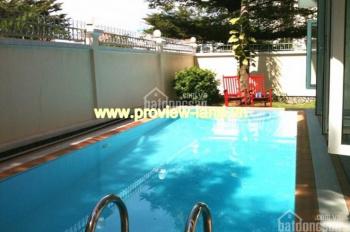 Biệt thự cho thuê Thảo Điền, có hồ bơi đẹp đầy đủ nội thất