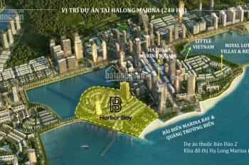 Chính chủ cần bán căn HB203 dự án Harbor Bay Hạ Long mặt đường 10m liên thông 3 bán đảo. 0936681289