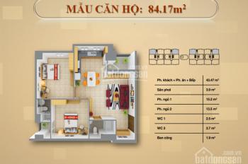 HOT* CĐT HƯNG THỊNH CÒN DUY NHẤT 1 CĂN 2PN-84,17m2. Dọn nhà vào ở ngay. Giá 1tỷ3. LH:0903.828.836