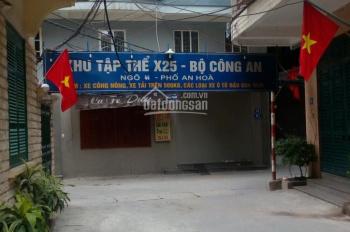 Bán nhà phân lô tập thể X25 Bộ Công An, phố An Hòa, Mỗ Lao, Hà Đông