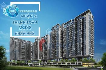 CH One Verandah,thanh toán 20% nhận nhà,CK lên tới 5%,80% CH view sông , LH 0967777545