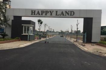 Chính chủ bán 75m2đất nền dự án tại Happy Land 1-5 Đông Anh, mặt đường QL3. LH: Mai Linh 0979994828