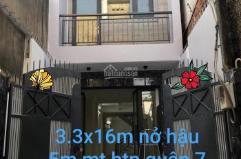 Bán nhà mặt tiền Huỳnh Tấn Phát, Bình Thuận, quận 7. DT: 3,3x16m, giá: 6,8 tỷ, LH: 0903178159 Việt