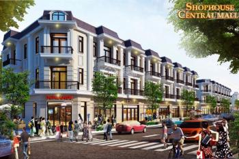 Mở bán GĐ1: Nhà phố thương mại (shophouse) chỉ với 980tr, MT 835, vị trí đẹp, chiết khấu cao