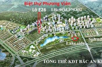 Cần bán gấp biệt thự Phương Viên KĐT Bắc An Khánh, giá tốt, 0918070892