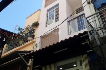 Nhà sổ hồng, 99m2, 6 phòng ngay cầu Nhị Thiên Đường, cho thuê kinh doanh 17tr/th trệt 2 lầu P5, Q8