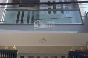 Nhà hẻm đường Bến Phú Định, P16, Q8, DT 45.6m2 (3.8 x 12m), 1 trệt 2 lầu sân thượng. Giá 3.65 tỷ