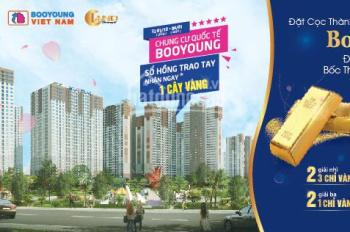 Bán căn hộ 73m2 cửa Đông Nam chung cư Booyoung Vina