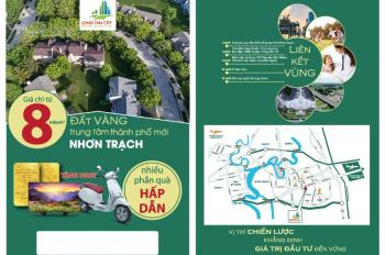 CĐT mở bán 500 nền đẹp nhất dự án Long Tân City - chỉ từ 8tr/m2, ưu đãi lớn