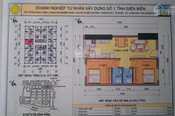 Cắt lỗ căn hộ 55.77m2, CT10C Đại Thanh, SĐCC full nội thất, 800 triệu, bao tên sổ đỏ