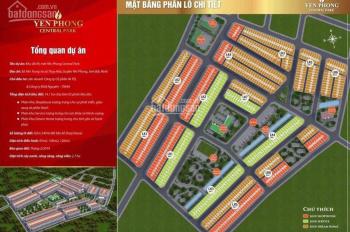 Siêu hot! Sở hữu đất nền KĐT Yên Trung - Thụy Hòa Bắc Ninh, chỉ với 10.5tr/m2 sổ đỏ trao tay