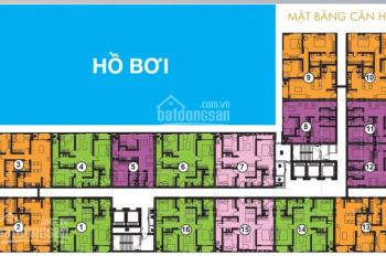 Cho thuê căn hộ Centana Thủ Thiêm 2PN, 64m2, hướng Đông Nam cực mát