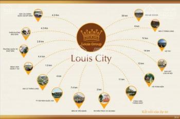 Bán 2 suất ngoại giao đường 21,5m đường trục chính dự án Louis City: LH 098 131 1369