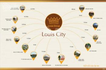 Bán suất ngoại giao SH Louis City, trục chính đường 21m, 12m hướng ĐN và TB