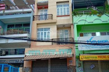 Cho thuê nhà mặt tiền Lạc Long Quân, Phường 3, quận 11, 1 trệt 3 lầu, DT 85m2. LH 0902429808