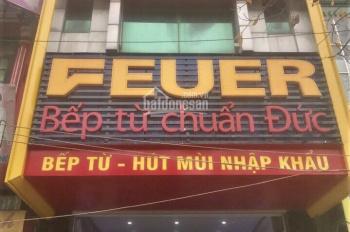 Cho thuê nhà mặt phố 737 Quang Trung 105m2 x 4T, mặt tiền 5.4m, thông sàn, vị trí đẹp 0976.075.019
