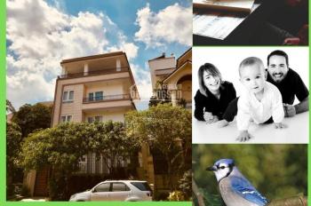 Bán biệt thự 2 mặt tiền công viên hồ sinh thái khu An Phú An Khánh, Quận 2, 1 hầm 4 tầng