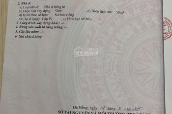 Bán nhà cấp 4 kiệt 3m đường Phan Thanh - 75m2. LH: 0905246455