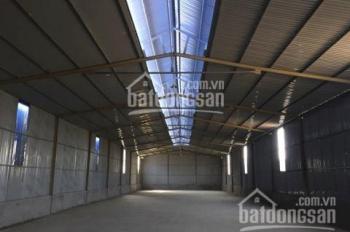 Cho thuê kho xưởng khu vực Thạch Thất, Quốc Oai, diện tích 1500 - 3000m2