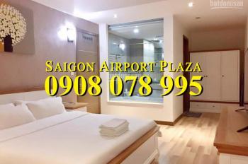 Bán gấp CH 1PN, NT mới, diện tích 59m2 Sài Gòn Airport Plaza giá tốt. Hotline PKD 0908 078 995