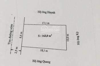 Bán lô đất ngang 8,6m, DT 163m2 tuyến 2 chợ Vĩnh Khê, An Đồng đường nhựa ô tô đỗ tận cửa