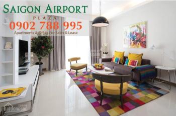 Chỉ 39 triệu/m2 sở hữu ngay CH 3PN - 155m2 Sài Gòn Airport Plaza, giá tốt, tặng NT LH 0902788995