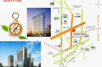 Cho thuê căn hộ Charm Plaza, 3 phòng ngủ, 8 triệu. LH: 0938141288