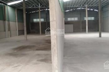 Cho thuê kho 10x40m mặt tiền Bờ Kinh, Phường Tân Tạo