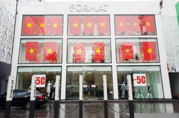 Cho thuê MP P Ngô Thì Nhậm DT 180m2x 4 tầng, góc 2MT 20m, thuê giá tốt /th, có thang máy