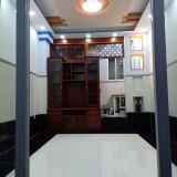 Bán nhà 3,85x7m, 1 trệt, 3 lầu, 3PN, hẻm xe hơi đường Bông Sao, P. 5, Q. 8, LH:  0901364736