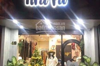 Cho thuê nhà trệt, mặt tiền đường Nguyễn Trãi, chiều ngang hơn 6m, khu phố thời trang cao cấp