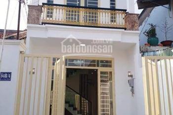 Cần cho thuê nhà 1 trệt 1 lầu, mặt tiền đường Trần Hoàng Na, sân trước rộng, giá dưới 9 tr/th