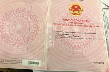 Bán nhà đất cũ 1 tầng 40m2, khu Kim Giang Q.Thanh Xuân 2.62 tỷ, 0912.1122.80