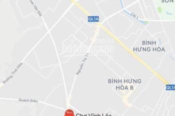Bán nhà đất MT đường Vĩnh Lộc, Vĩnh Lộc A, Bình Chánh gần chợ Vĩnh Lộc
