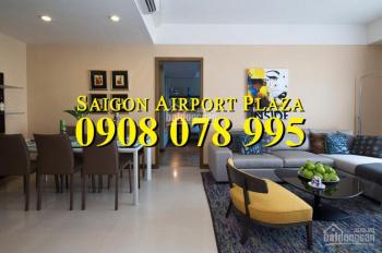 Cần tiền bán gấp CH 2PN nội thất Châu Âu tại Sài Gòn Airport Plaza, 4 tỷ. Hotline PKD 0908 078 995
