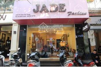 Cho thuê cửa hàng kinh doanh MT Triệu Việt Vương, DT 115m2, MT 5.3m, giá 56 tr/th. LH 0974739378