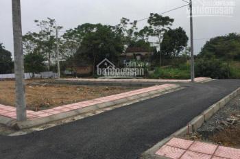 Bán lô đất thổ cư 100% nằm tại trung tâm Hòa Lạc với giá cự rẻ, có sổ đỏ riêng