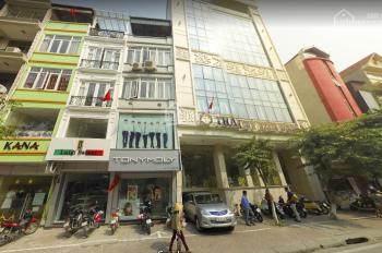MẶT  NGÕ BÀ TRIỆU, S =66M² x 4T, MT 9M thích hợp mở showroom, spa, cafe, trụ sở công ty.